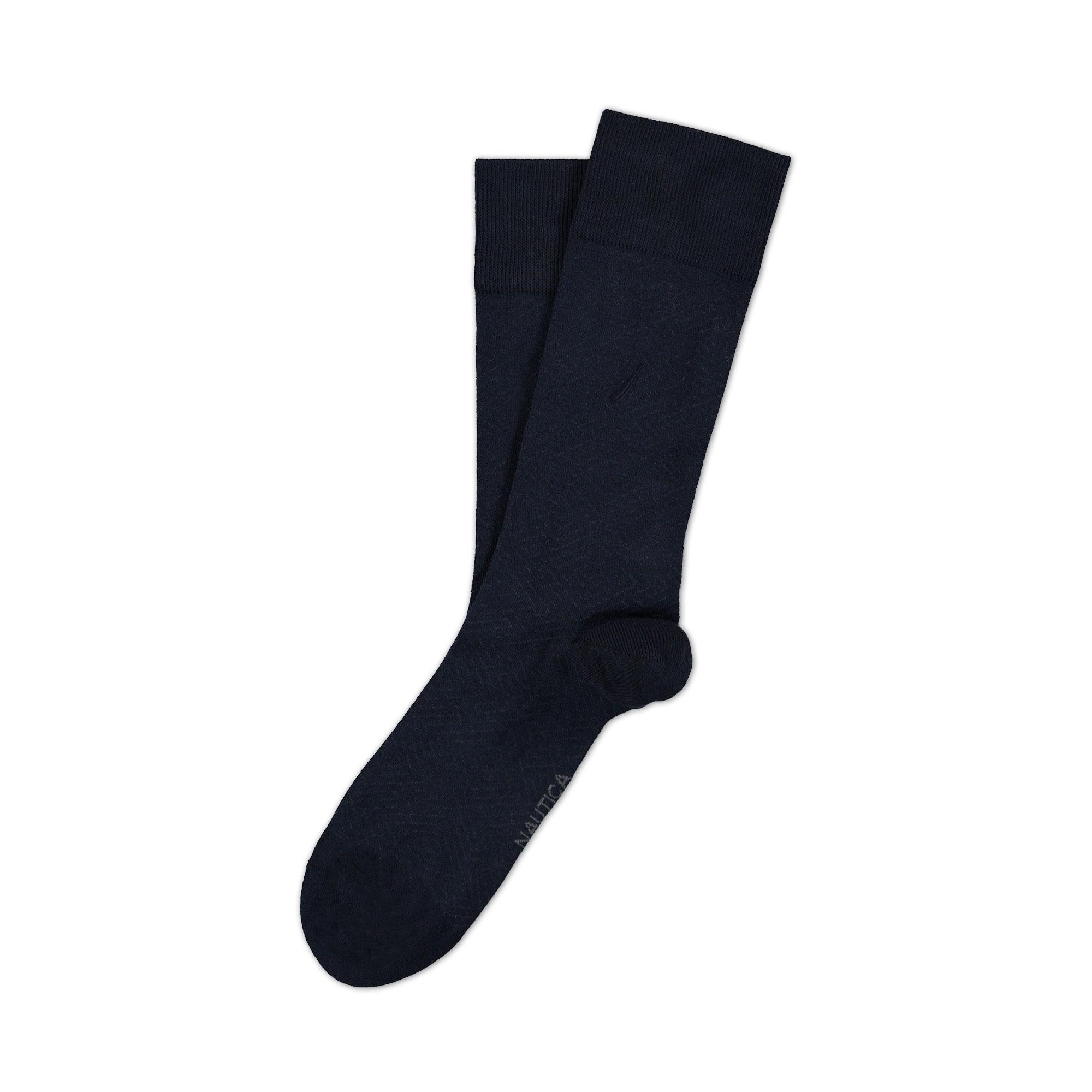 Nautica Erkek Classıc Fıt Çizgili Lacivert Çorap