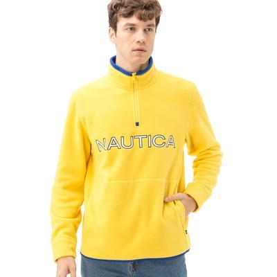 Nautica Erkek Sarı Sweatshirt