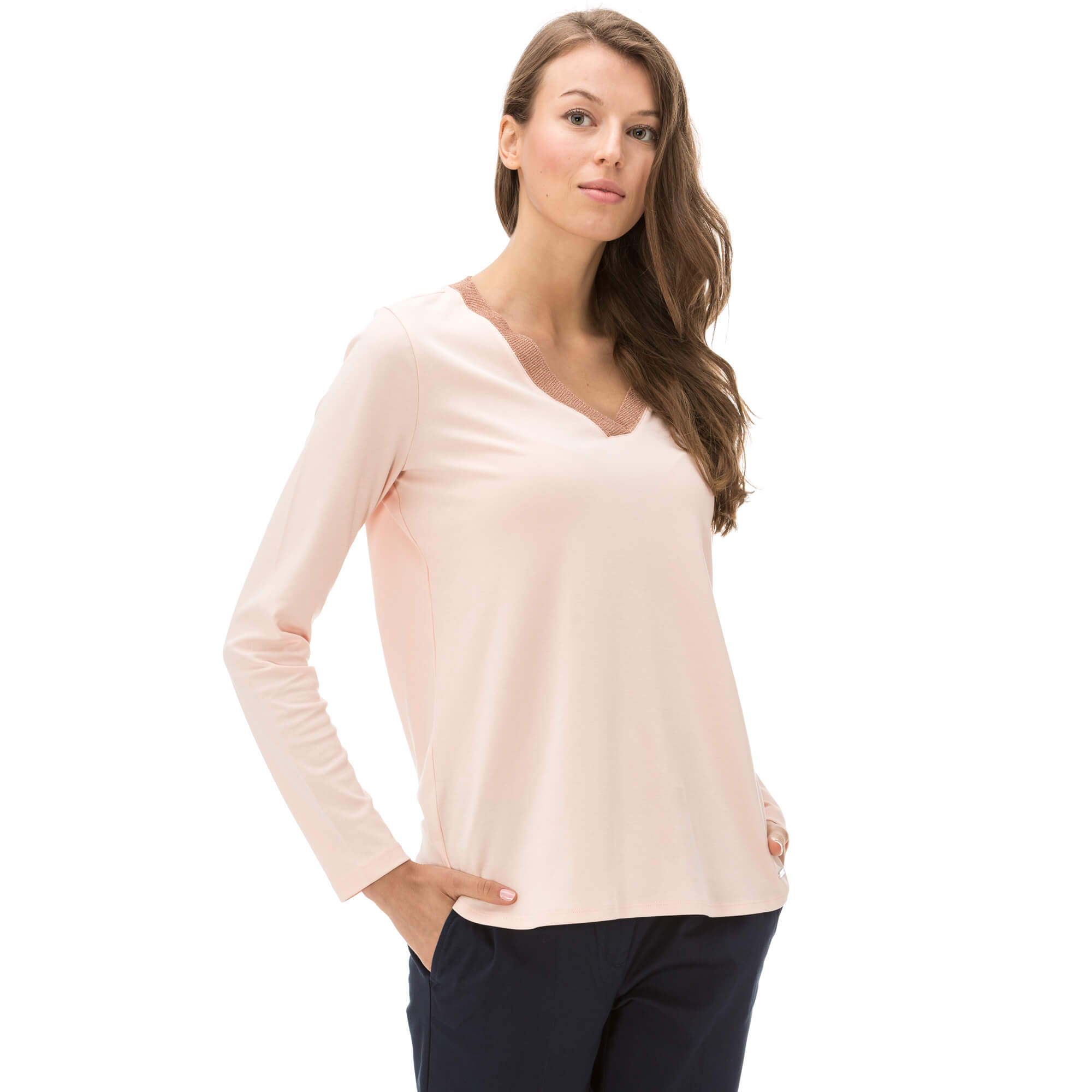 Nautica Kadın Turuncu Bluz