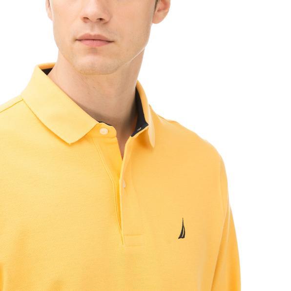Nautica Erkek Classıc Fıt Sarı Polo