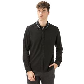 Nautica Erkek Siyah Pike Slim Fit Gömlek