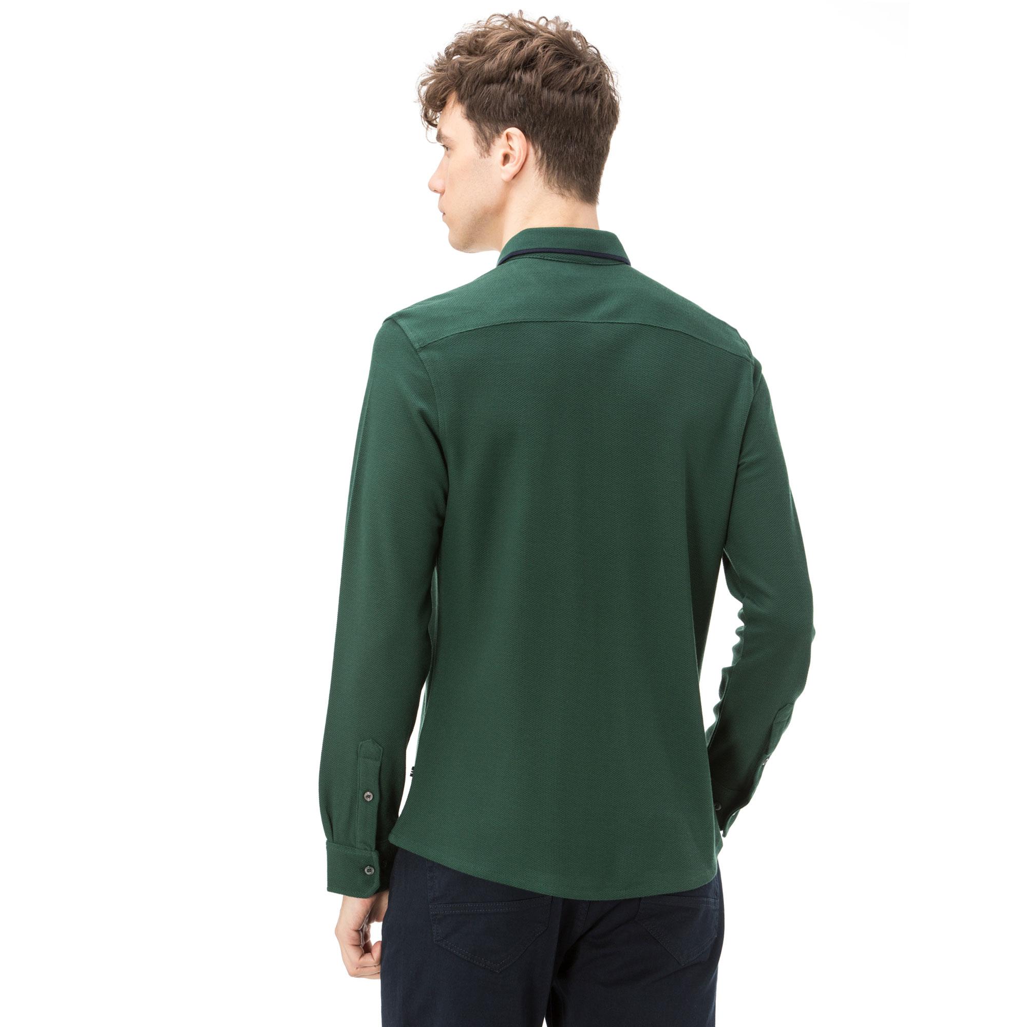 Nautica Uzun Kollu Erkek Yeşil Polo