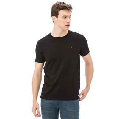 Nautica Erkek Slim Fit Siyah T-Shirt