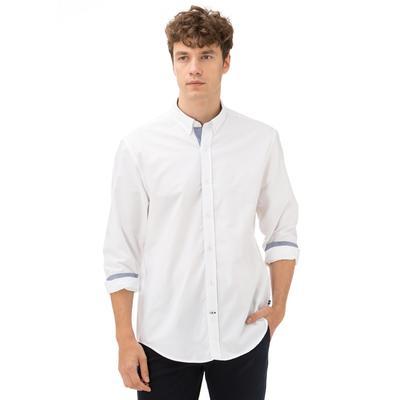 Nautica Erkek Classıc Fıt Beyaz Gömlek