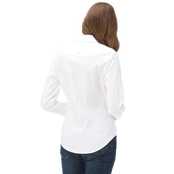 Nautica Kadın Classıc Fıt Beyaz Gömlek