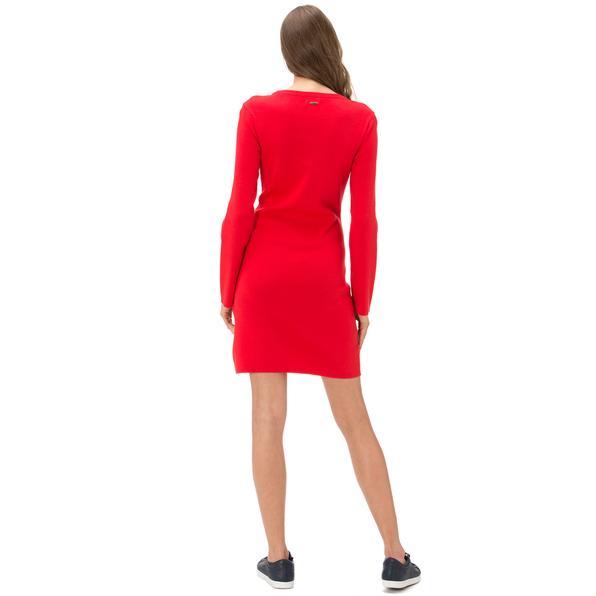 Nautica Kadın Classıc Fıt Kırmızı Elbise