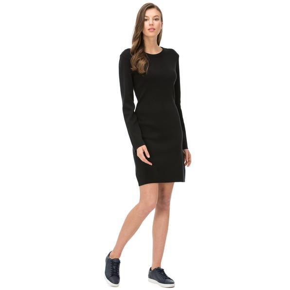 Nautica Kadın Classıc Fıt Siyah Elbise
