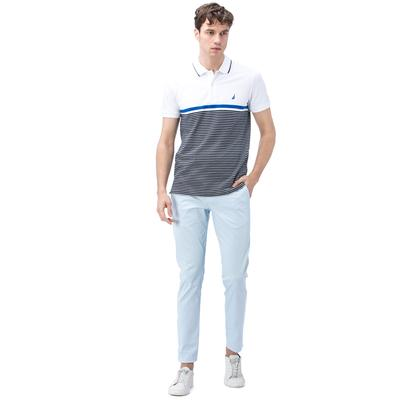 Nautica Erkek Slim Fit Mavi Pantolon