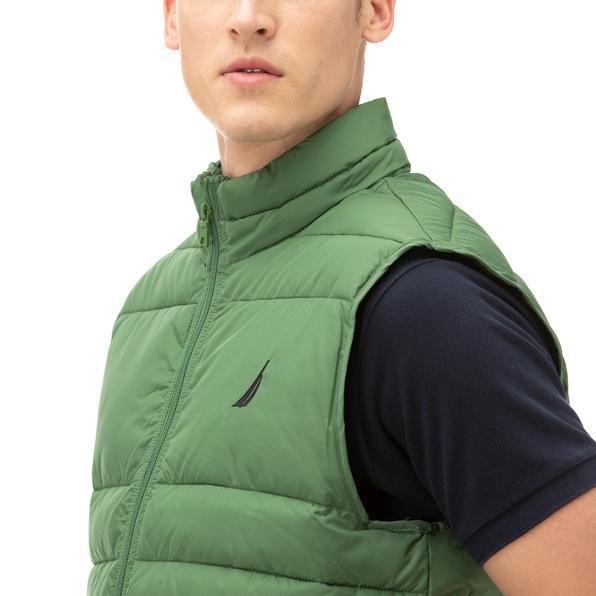 NAUTICA Erkek Yeşil Yelek
