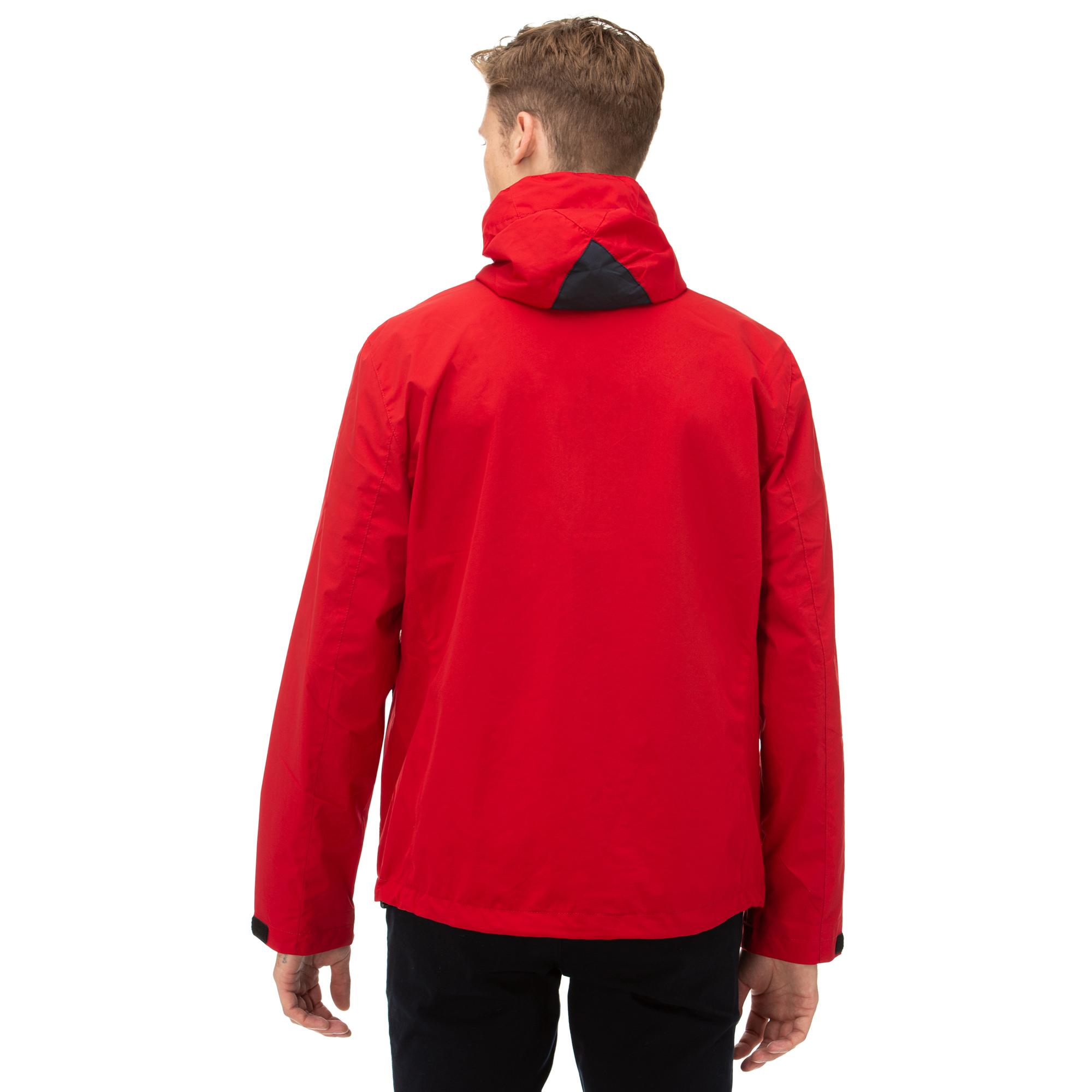 NAUTICA Erkek Kırmızı Yağmurluk
