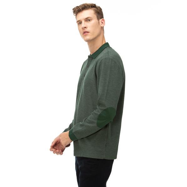 NAUTICA Erkek Yeşil Classic Fit Uzun Kollu Polo