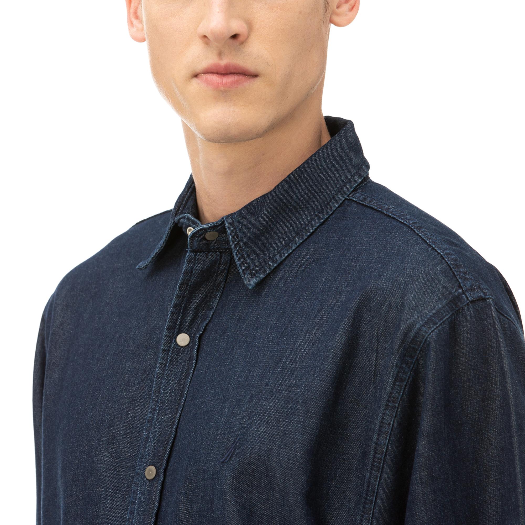 NAUTICA Erkek Mavi Classic Fit Gömlek