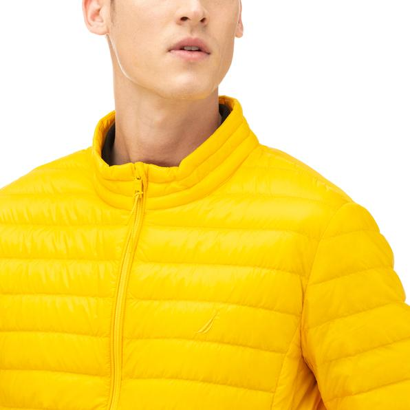 NAUTICA Erkek Sarı Kaz Tüyü Mont