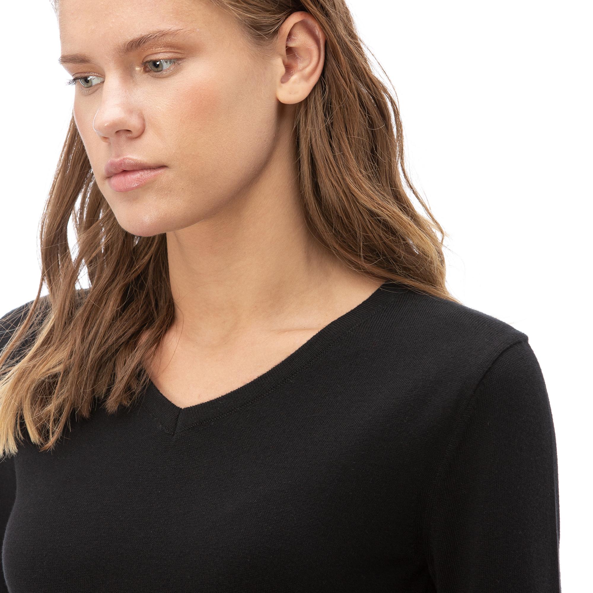 NAUTICA Kadın Siyah Triko
