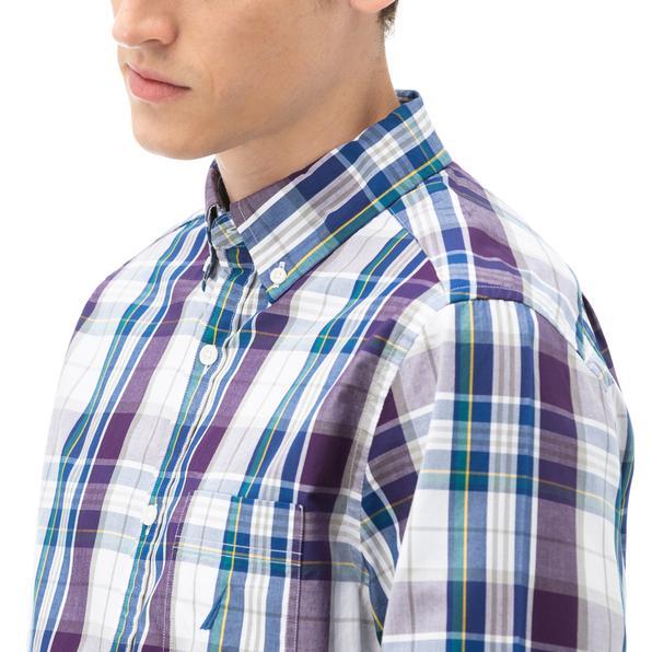 NAUTICA Erkek Beyaz Kareli Gömlek