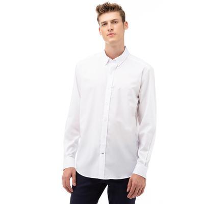 NAUTICA Erkek Beyaz Classic Fit Gömlek