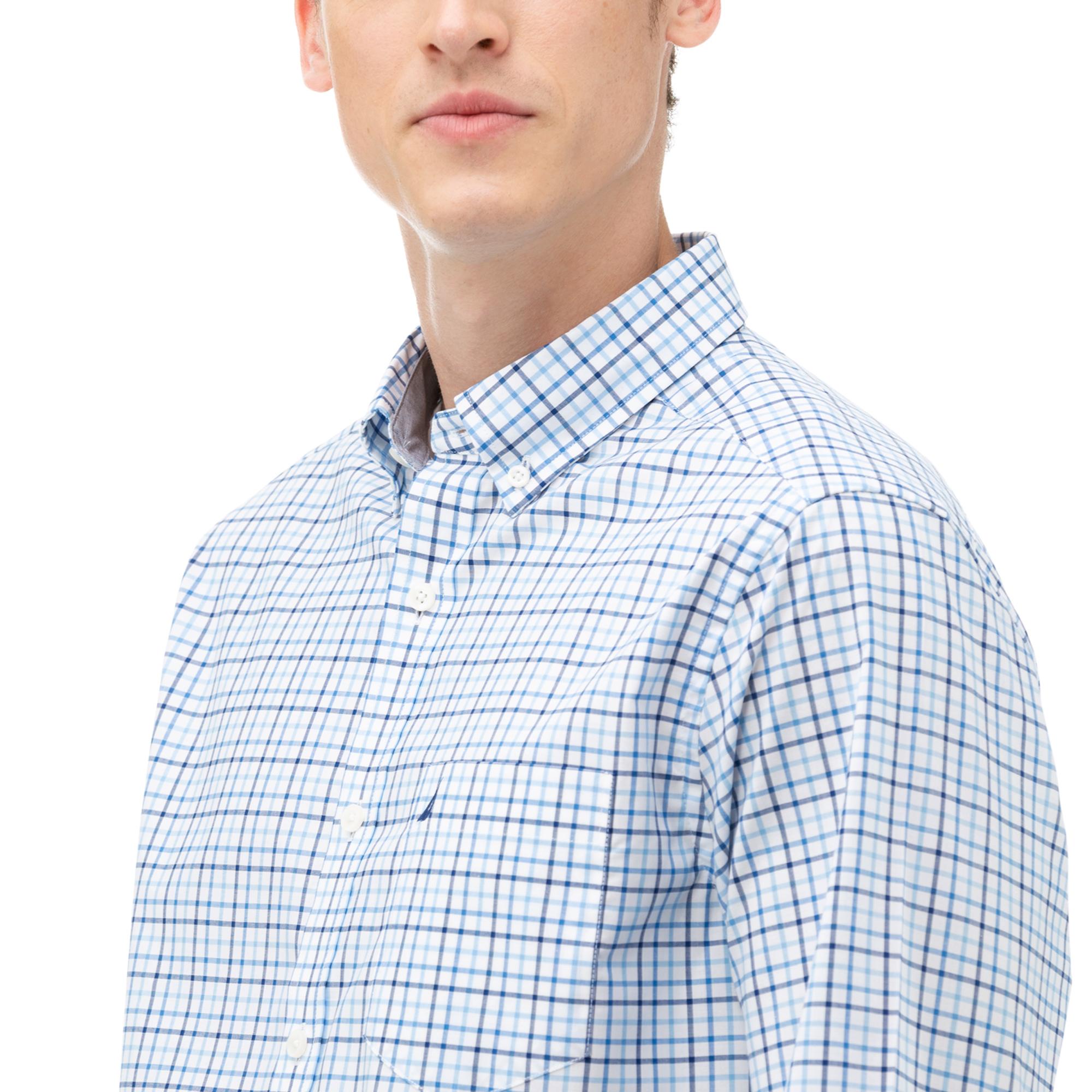 NAUTICA Erkek Mavi Armürlü Gömlek