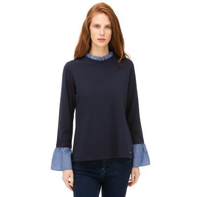 NAUTICA Kadın Lacivert Standart Fit T-Shirt