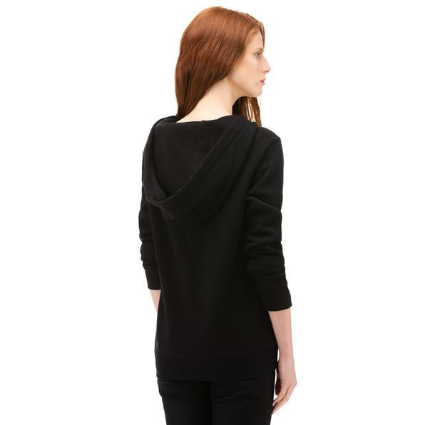 NAUTICA Kadın Siyah Baskılı Sweatshirt