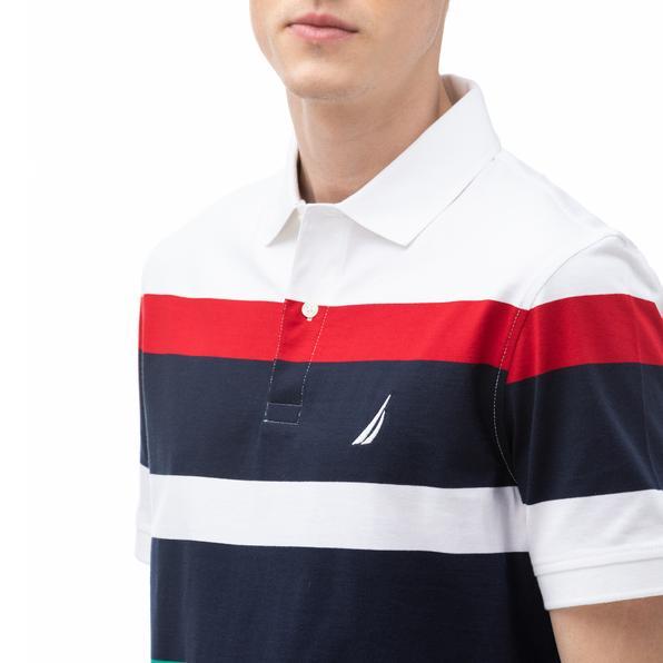 NAUTICA Erkek Regular Fit Beyaz Polo