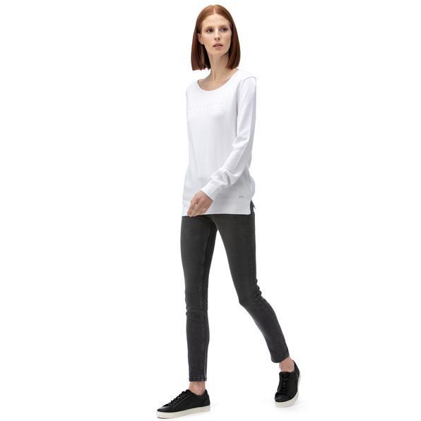 NAUTICA Kadın Gri Slim Fit Denim Pantolon