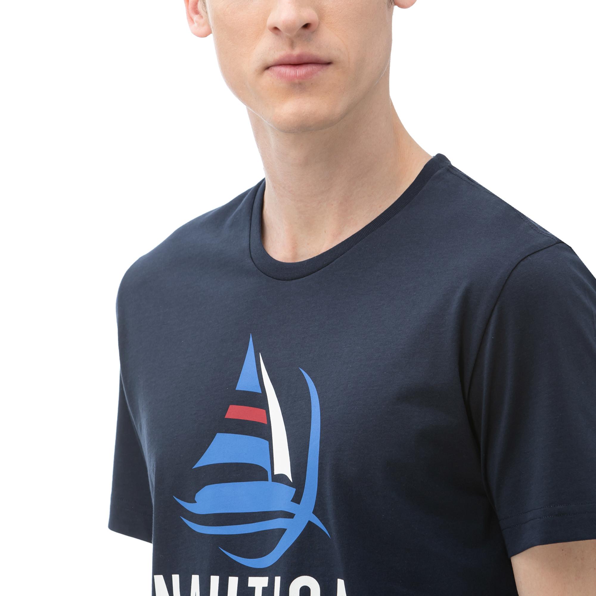 NAUTICA Erkek Lacivert T-Shirt