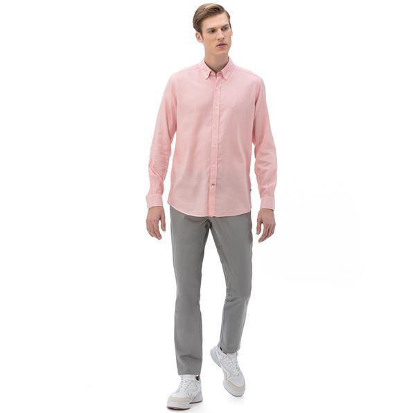NAUTICA Erkek Classic Fit Gri Pantolon