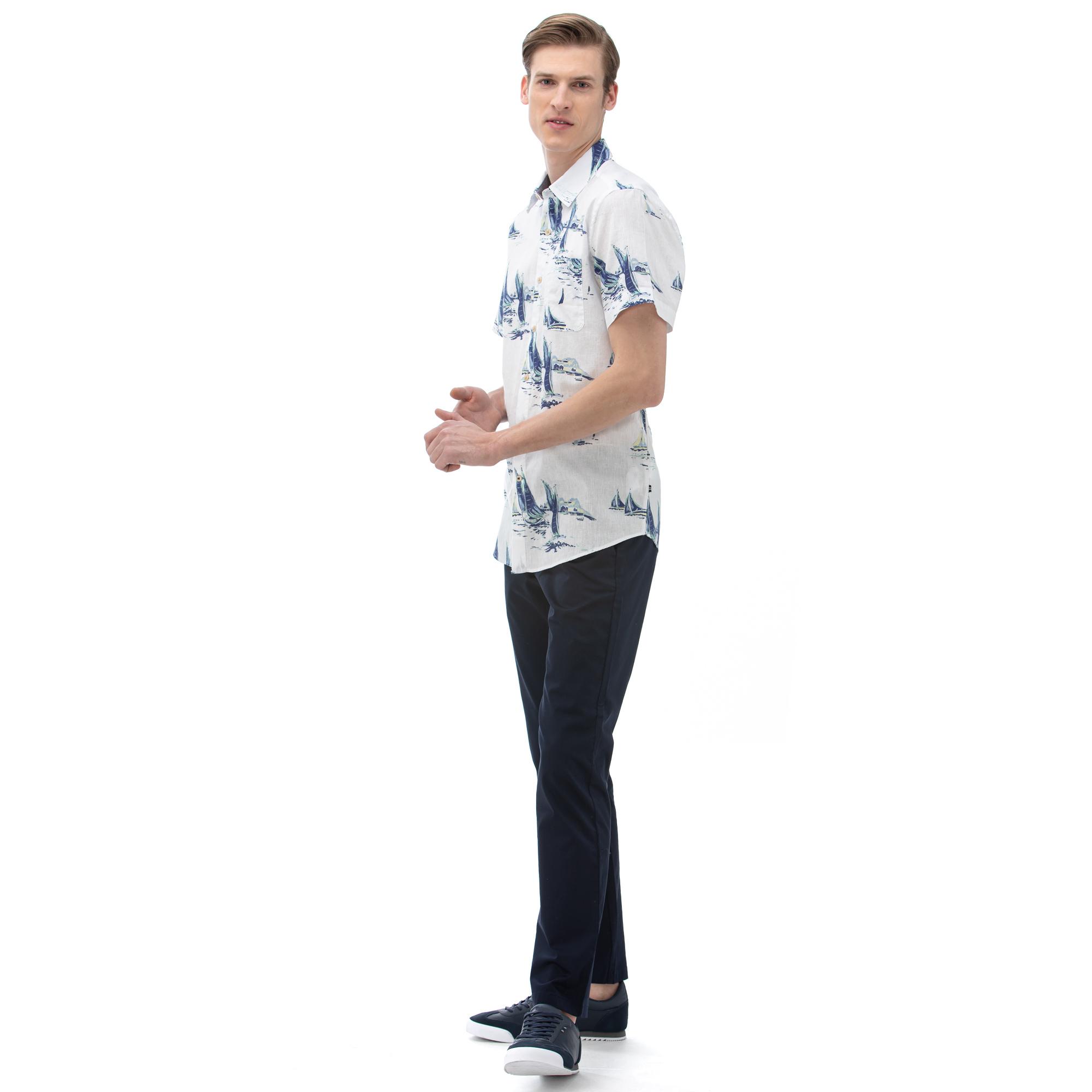 NAUTICA Erkek Classic Fit Lacivert Pantolon