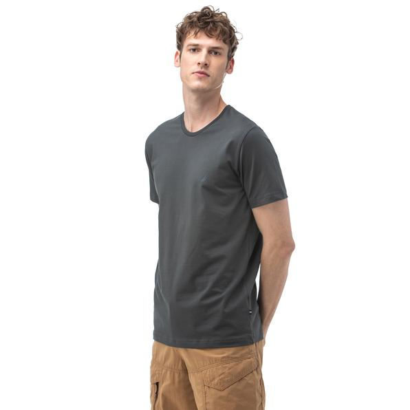 NAUTICA Erkek Antrasit T-Shirt