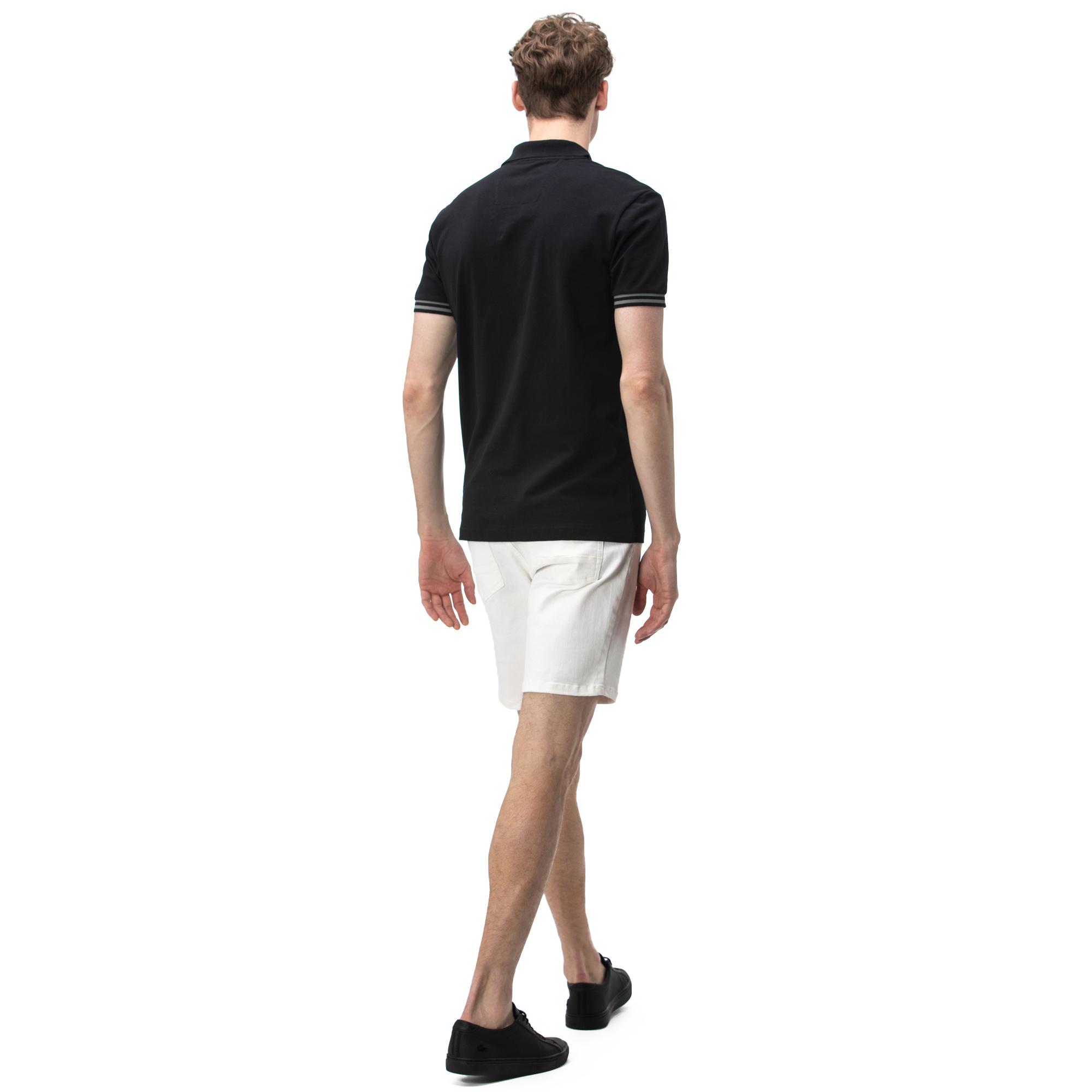 NAUTICA Erkek Slim Fit Beyaz Bermuda Şort