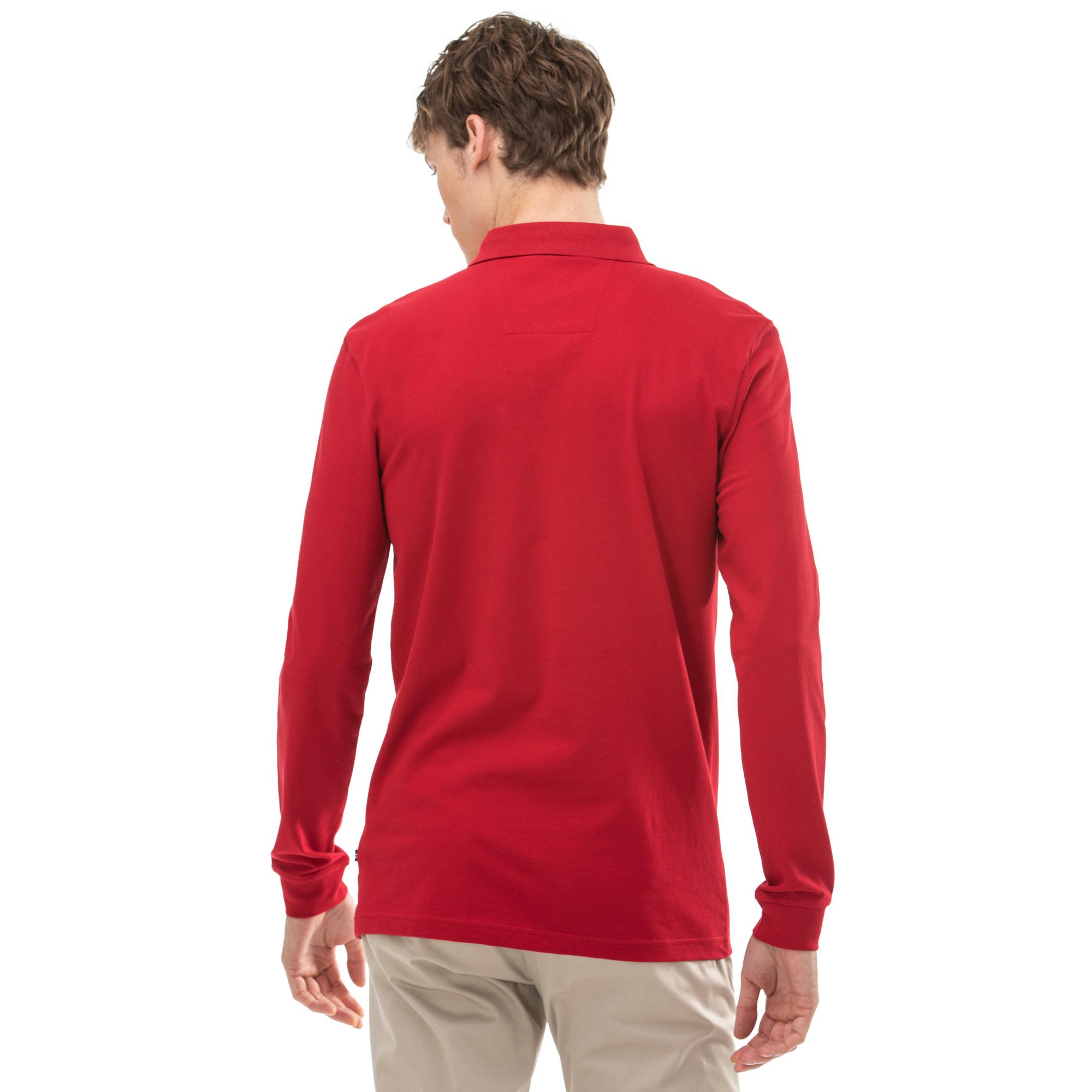 NAUTICA Erkek Slim Fit Kırmızı Polo