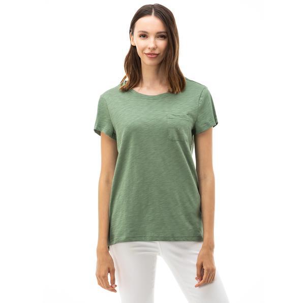 NAUTICA Kadın Yeşil T-SHIRT