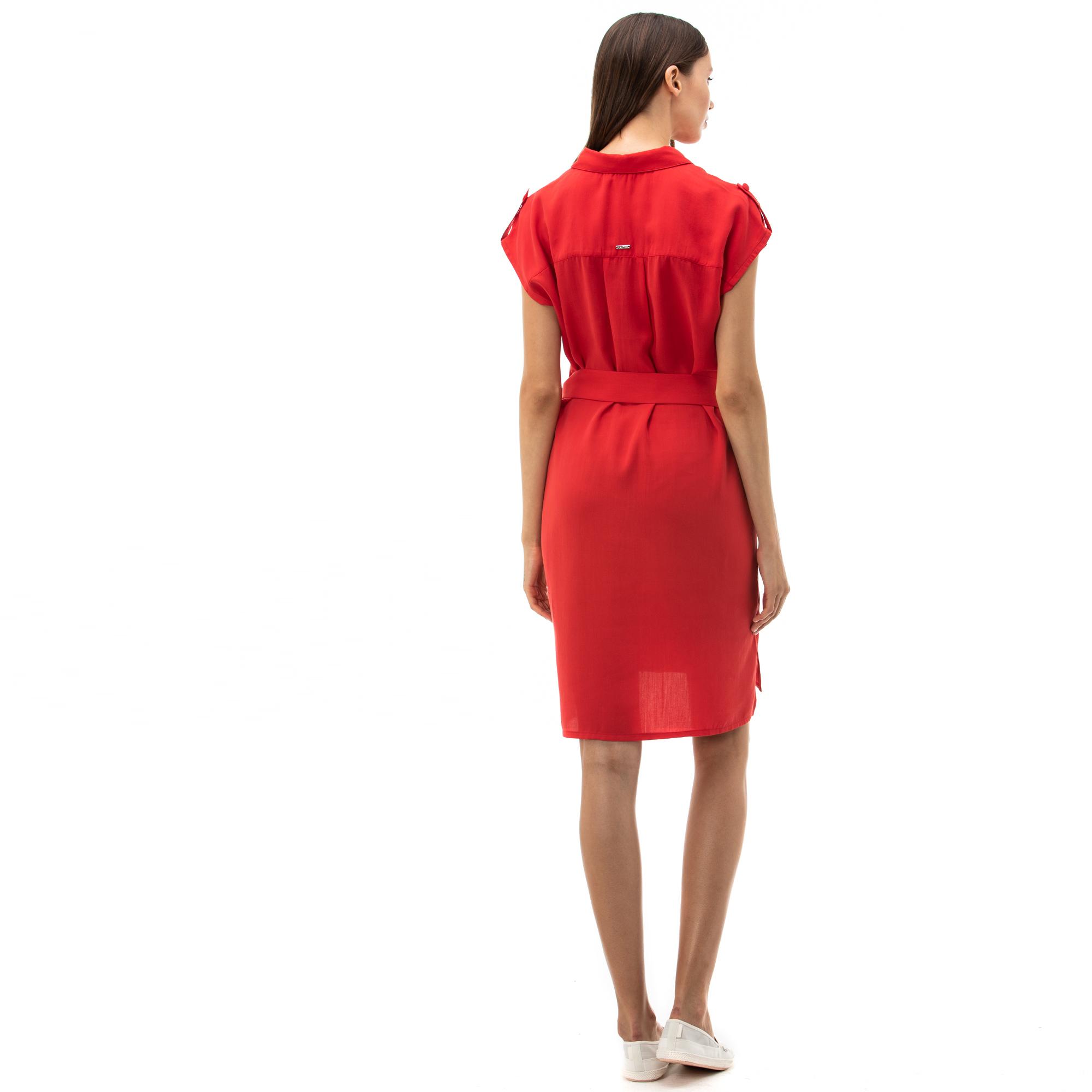NAUTICA Kadın Kırmızı Elbise