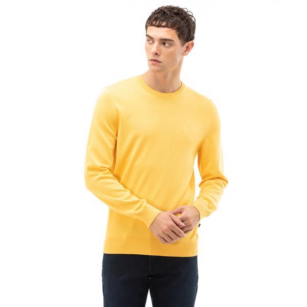 NAUTICA Erkek Sarı Triko