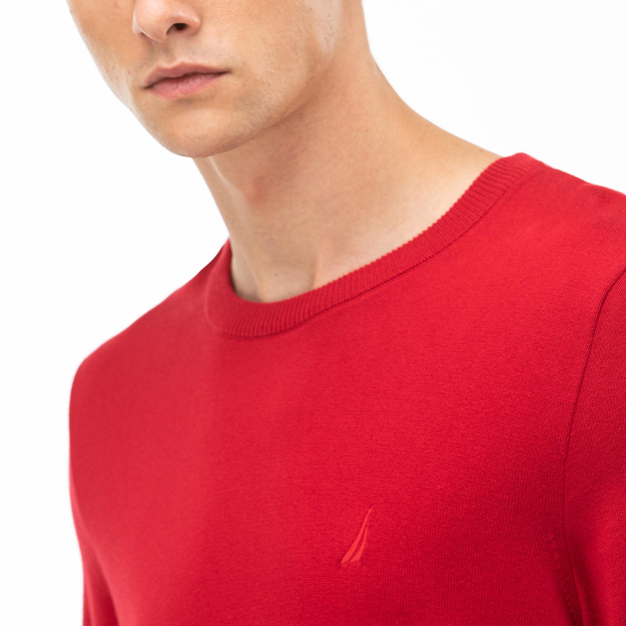 NAUTICA Erkek Kırmızı Triko