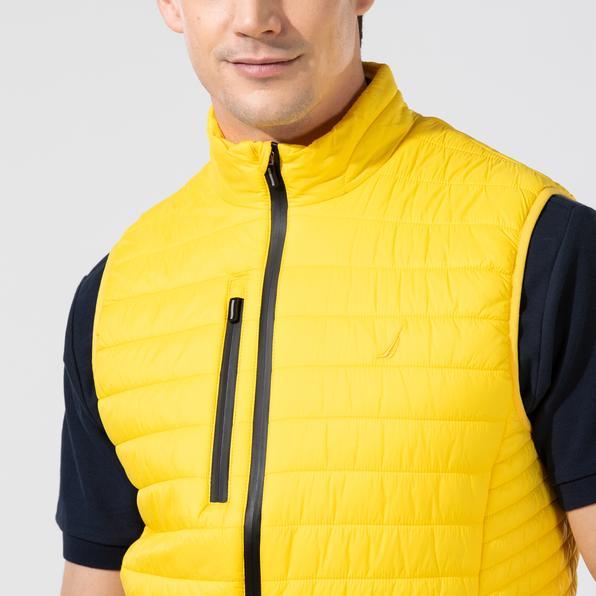 NAUTICA Erkek Sarı Yelek