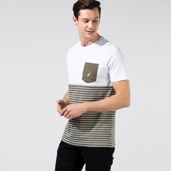 NAUTICA Erkek Haki T-Shirt