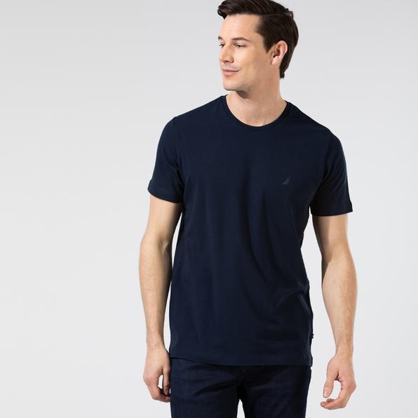 NAUTICA Erkek Slim Fit Lacivert T-Shirt