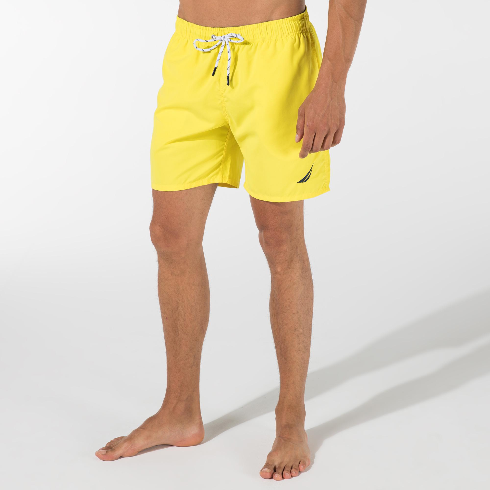 NAUTICA Erkek Sarı Şort Mayo