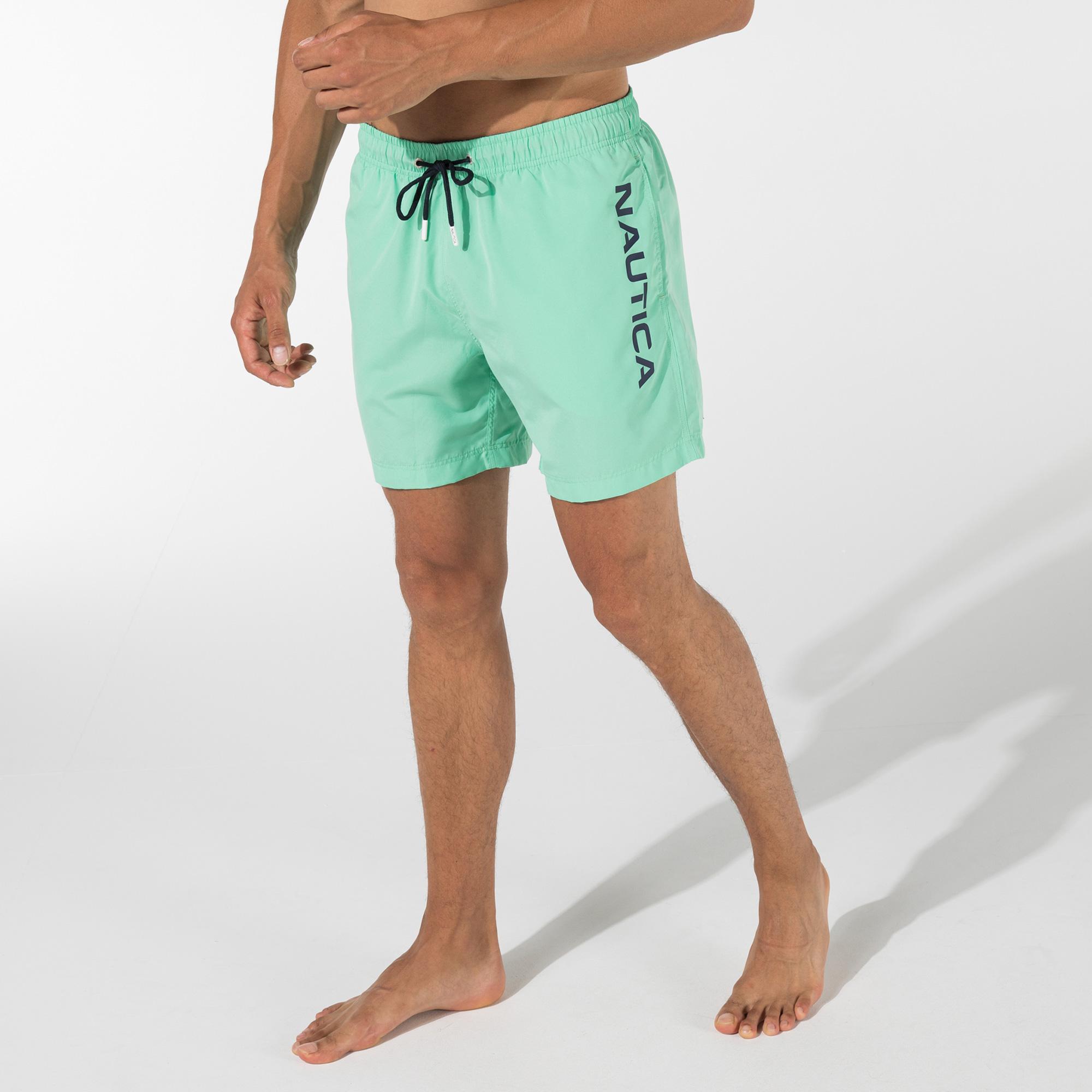 NAUTICA Erkek Yeşil Şort Mayo