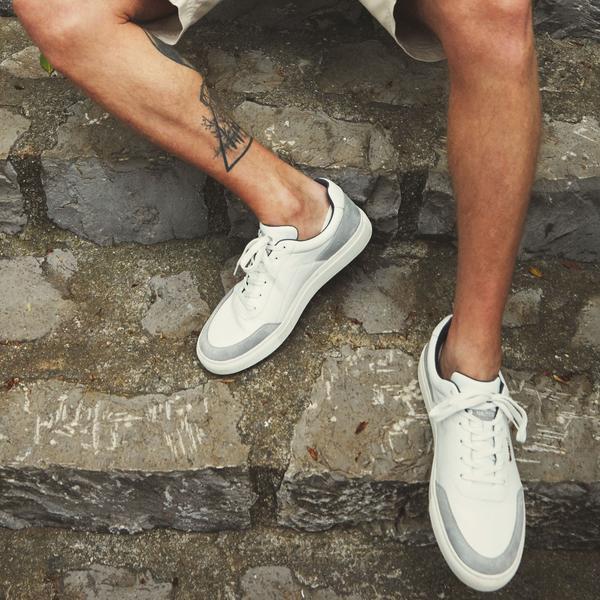 Nautica Erkek Beyaz Keten Spor Ayakkabı