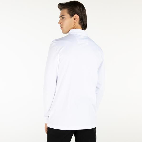 NAUTICA Erkek Slim Fit Beyaz Polo